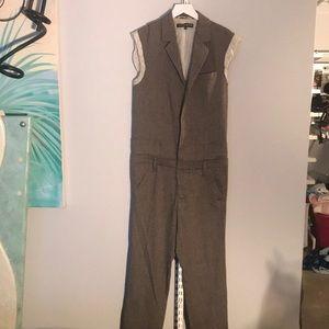 Vintage Frankie Morello one piece union jump suit